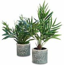 Metall Ø ca.14cm Blumen Pflanzen Wohnung Deko Übertopf türkis