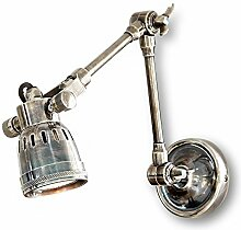 Loberon Wandlampe Abagail, Messing, H/B/T 10/9 /
