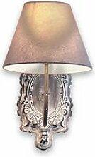 LOBERON Wandlampe Abondant, antikgrau (29 x 20 x