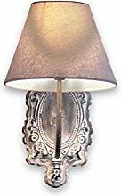 Loberon Wandlampe Abondant, Polyester, Baumwolle,