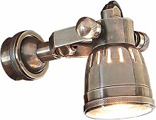 Loberon Wandlampe Bedford, Messing, H/Ø 19/6,5