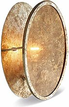Loberon Wandlampe Crix, Eisen, Glas, H/Ø ca.