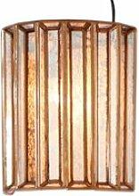 LOBERON Wandlampe Immogen, antikgold (14 x 26 x