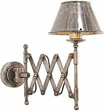 Loberon Wandlampe Quimper, Messing, H/Ø 42/20,5