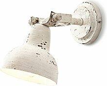 Loberon Wandlampe Rieke, Eisen, H/B/T 23/12,5/26