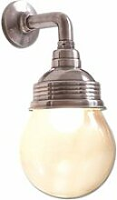 LOBERON Wandlampe Rubi, antiksilber/klar (18 x