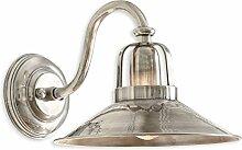 Loberon Wandlampe Timeon, Messing, H/B/T/Ø