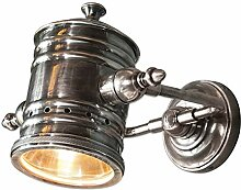 Loberon Wandlampe Travis, Messing, H/B/T 18/20 /