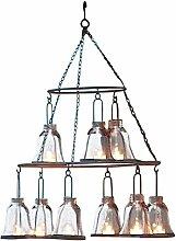 Loberon Windlichtleuchter Hackney, Dekoration,