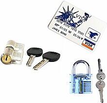 loboo Locksmith Praxis Werkzeug Set 1Blau