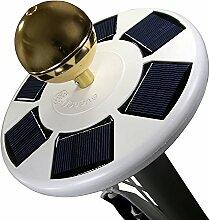 lobzon Bright LED Solar Fahnenmast Licht Solar Landschaft Lampe