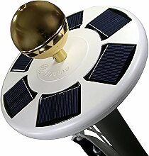 Lobzon Solar-Fahnenmast mit hellem LED-Lich