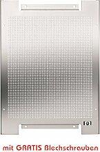 Lochblech Montageplatte 300x400mm verzink