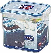 Lock & Lock Frischhaltedose, Vorratsdose, transparent, 850 ml, rechteckig, 12 Stück, 135 x 102 x 118 mm