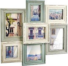 locker Galerierahmen Collage, für 7 Bilder,