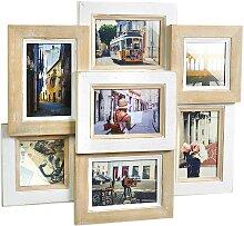 locker Galerierahmen Nature, für 7 Bilder, Bilder