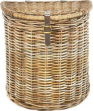 locker Wäschekorb Kubu B/H/T: 32 cm x 55 51 braun