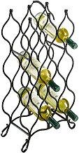 locker Weinflaschenhalter Weinregal aus Metall