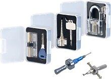 Lockpicking-Erweiterungs-Set: 3 Übungsschlösser