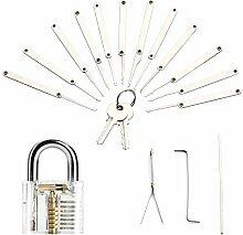 Lockpicking Set, Dietrich Set, Yisun 18pcs