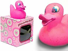 Locomocean Ltd Glow-in-the-Duck Gummiente, LED,