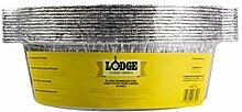 Lodge A10F12 Dutch Oven Liner, Aluminiumfolie,