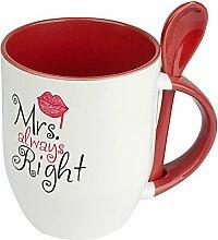 Löffeltasse Mrs. Always Right - Witziger