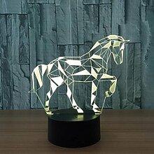 LOERO® Acryl 3D Effekt Illusion Lampe Puzzle