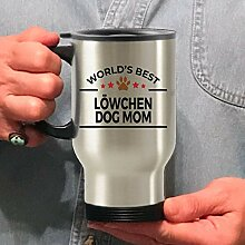 Löwchen Travel Mug Dog Mom
