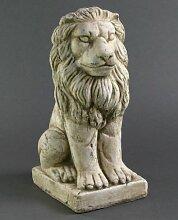Löwe Keramiklöwe LION Gartenskulptur 34 cm