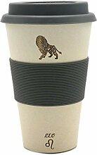 Löwe (Leo) - Sternzeichen Coffee2go Becher aus