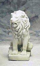 Löwe Medici links, stone lion, Gartenfigur,