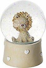 Löwen Schneekugel Spieluhr für Kinder Baby