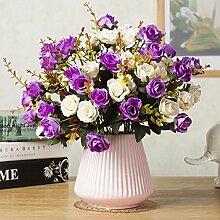 LOF-fei Künstliche Blume Daisy Seide Home Decor