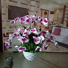 LOF-fei Künstliche Blume Orchidee Esstisch