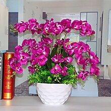 LOF-fei Künstliche Blume Orchidee Seide Home