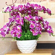 LOF-fei Künstliche Blume Orchidee Seide