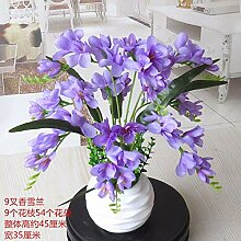 LOF-fei Künstliche Blume Phalaenopsis Seide