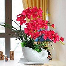 LOF-fei Künstliche Blume Phalaenopsis silk Blume