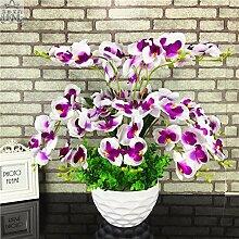 LOF-fei Künstliche Blume Phalaenopsis