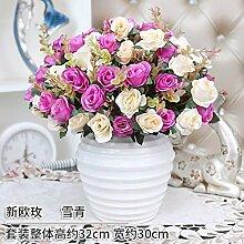 LOF-fei Künstliche Blume rose Seide Esstisch