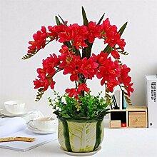 LOF-fei Künstliche Blumen Orchidee Dekoration der