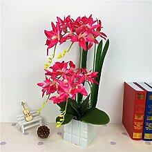 LOF-fei Künstliche Blumen Orchidee Esstisch