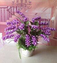 LOF-fei Künstliche Blumen Orchidee Home Decor