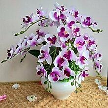LOF-fei Künstliche Blumen Orchidee Seide home