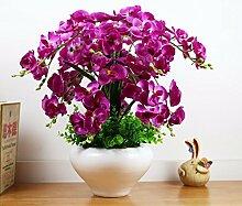 LOF-fei Künstliche Blumen Orchideen Home Decor