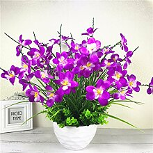 LOF-fei Künstliche Blumen Orchideen Home