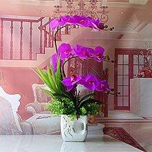 LOF-fei Künstliche Blumen Orchideen Seide Home