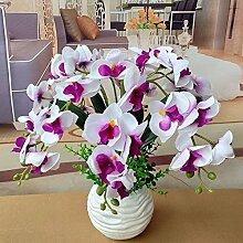 LOF-fei Künstliche Blumen Orchideen Seide Tisch