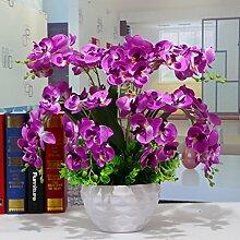 LOF-fei Künstliche Blumen Phalaenopsis Home Decor